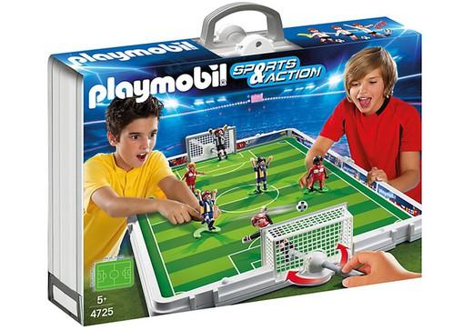 set playmobil 4725 fußball maletin — bricowork onlinebaumarkt