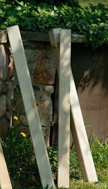 Poste De Madeira Quadrado 9x9 Cm Para Cerca De Madeira Clássico Ferretería Online Bricowork